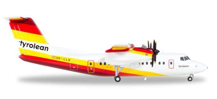HE558419 Herpa 200 Tyrolean Airways (Austria) Dash-7 Model Airplane
