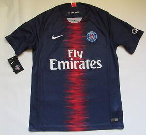 best website c2f81 ba8c1 PARIS SAINT-GERMAIN PSG home NEW jersey shirt NIKE 2018-2019 ...