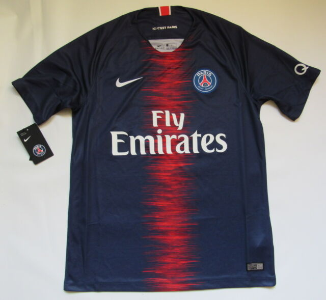 new products 4cd46 c049b PARIS SAINT-GERMAIN PSG home NEW jersey shirt NIKE 2018-2019 trikot adult  SIZE M