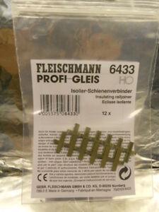 * Fleischmann 6433 HO Profi Isolating Joiner Pack of 12 Pieces (PL) - Wroclaw, Polska - * Fleischmann 6433 HO Profi Isolating Joiner Pack of 12 Pieces (PL) - Wroclaw, Polska