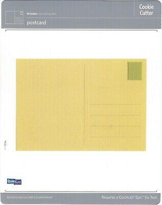 "CC-Shape-075-2 /""POSTCARD/""  NEW Quickutz"