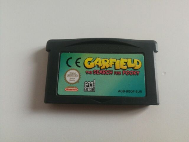 Garfield: the Search for Pooky [AGB-BGOP-EUR]
