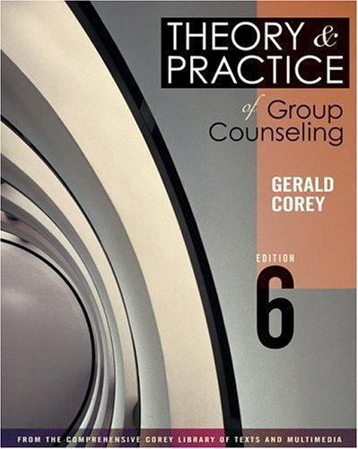 Available Titles Cengagenow Theory And Practice Of Group Counseling
