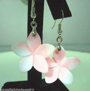 305mm 2t blush pink mother of pearl hawaiian plumeria flower 316l image is loading 30 5mm 2t blush pink mother of pearl mightylinksfo