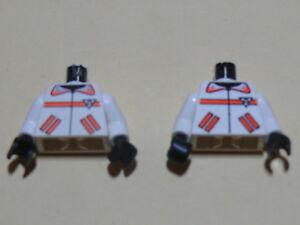 Lego-2-torses-blancs-2-white-torsos-from-minifig-set-6451-6462-6415