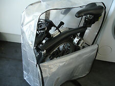 "Brompton Bicycle Bike Folding Carrier Bag Carry Cover Travel Airplane 16"" Wheels"