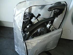 Brompton Bicycle Bike Folding Carrier Bag Carry Cover Travel