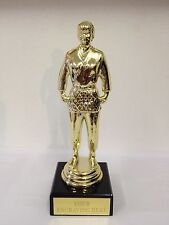 Marble Based FEMALE MARTIAL ARTS Trophy Award FREE ENGRAVING