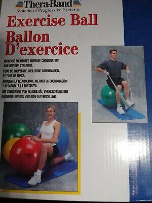 Thera-Band® Ballkissen blau Sport 36 cm mit Noppen Fitness Koordination,