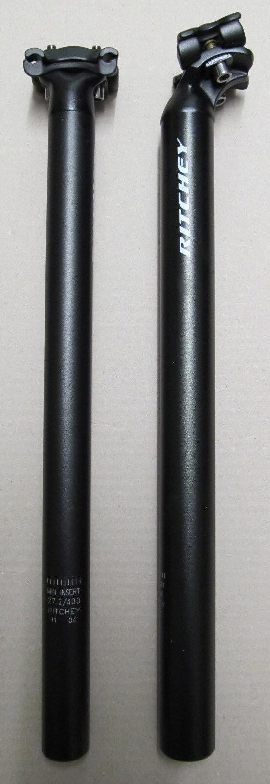 Ritchey Logica 2-Bolt Reggisella 31,6mm 400mm Nuovo 316gramm