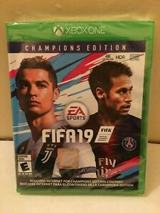 XBOX-ONE-EA-SPORTS-FIFA-19-CHAMPIONS-EDITION-BRAND-NEW-FACTORY-SEALED