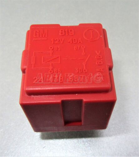 68-Saab 9-3 9-5 9-7 9-3X Engine Management Multi-Use 4-Pin Red Relay GM 24438887