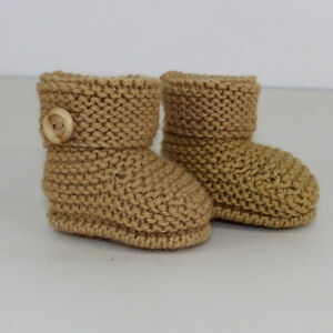 KNITTING-INSTRUCTIONS-BABY-SIMPLE-CUFF-BOOTIES-KNITTING-PATTERN