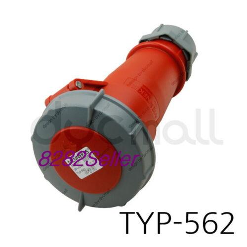 screw terminals single body IP67 400V 32A 3P+N+E MENNEKES TYP 562 Part no.562