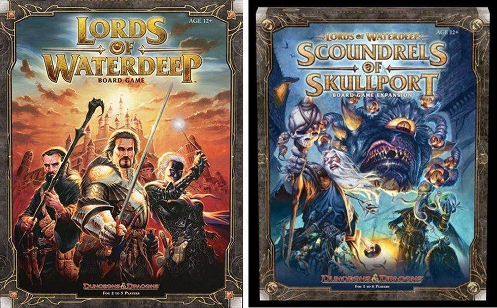Dungeons & Dragons D&D Lords of Waterdeep + Scoundrels of Skullport Bundle (New)