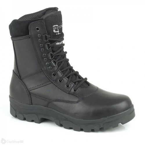Grafters Top Gun 8 inch Leather Police Boot M671A