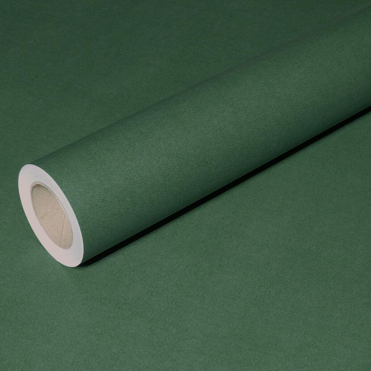 0,47 /m² 50m x 1,00m verde oscuro junopax regalo de papel resistente a la intemperie mojado papel fijo