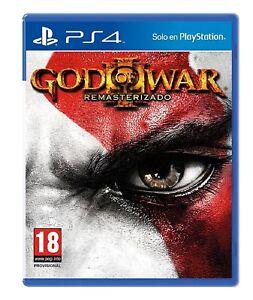 PS4-God-of-War-3-Remasterizado-Nuevo-Precintado-Pal-Espana
