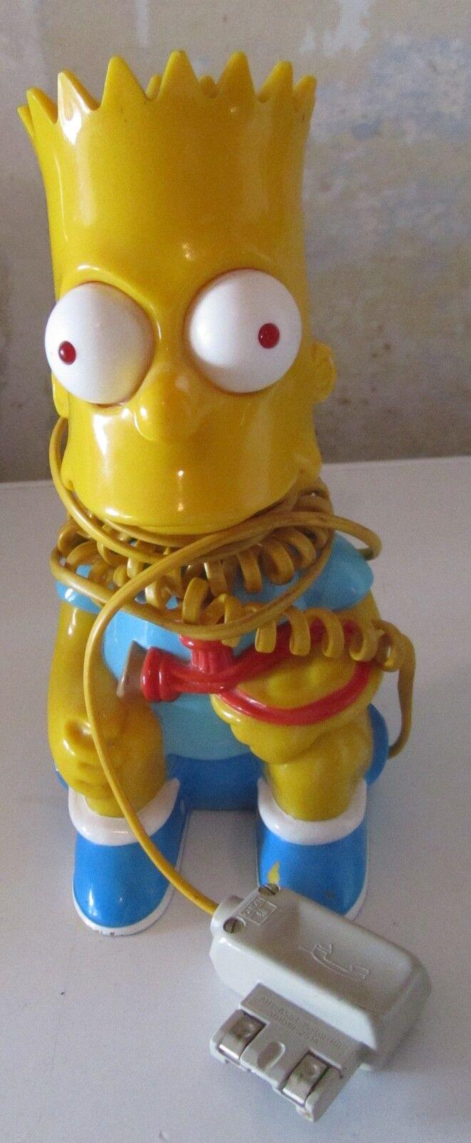 Telefono Bart Simpson vintage anni 90 attacco straniero non posso testarlo