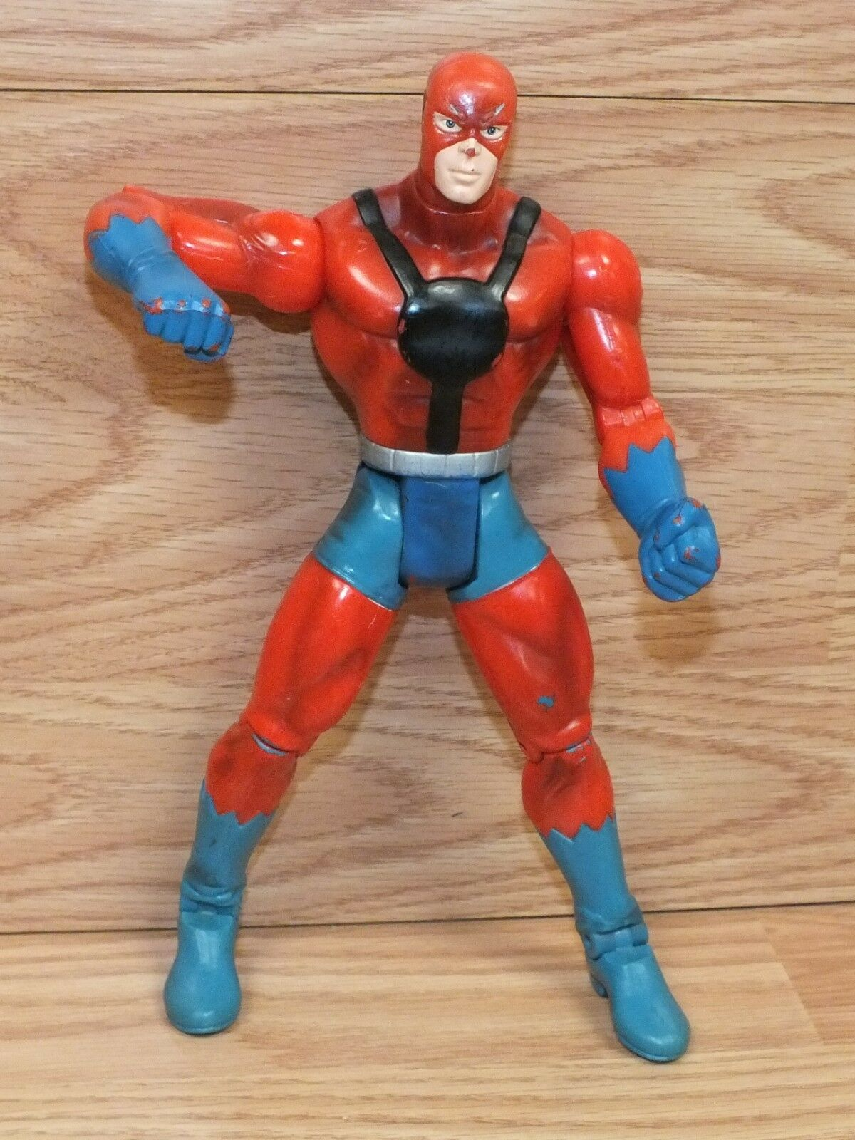 Genuine Marvel bluee & Red Collectible Ant-Man Action Figure   Toy Only READ