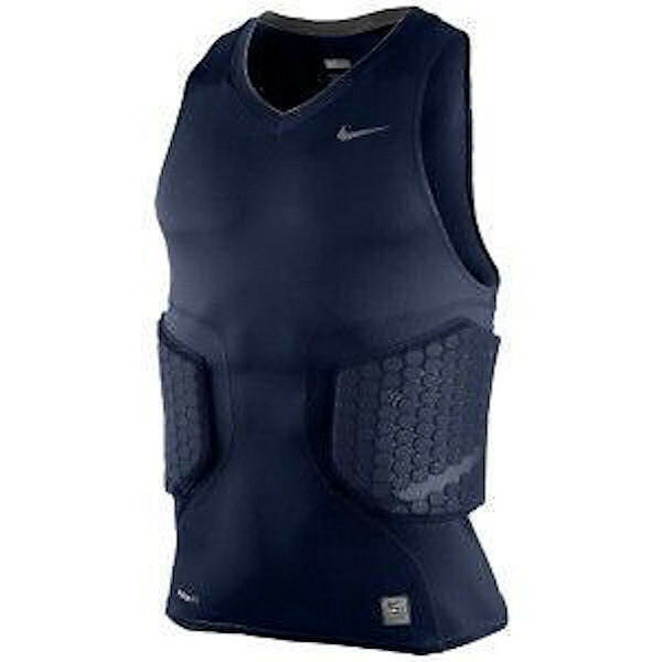 NIKE Pro Combat Deflex Padded bluee Basketball Compression Tank Top NEW Mens 3XL