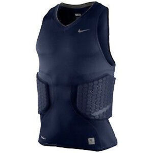 6ff13762dceb03 Image is loading NIKE-Pro-Combat-Deflex-Padded-Blue-Basketball-Compression-
