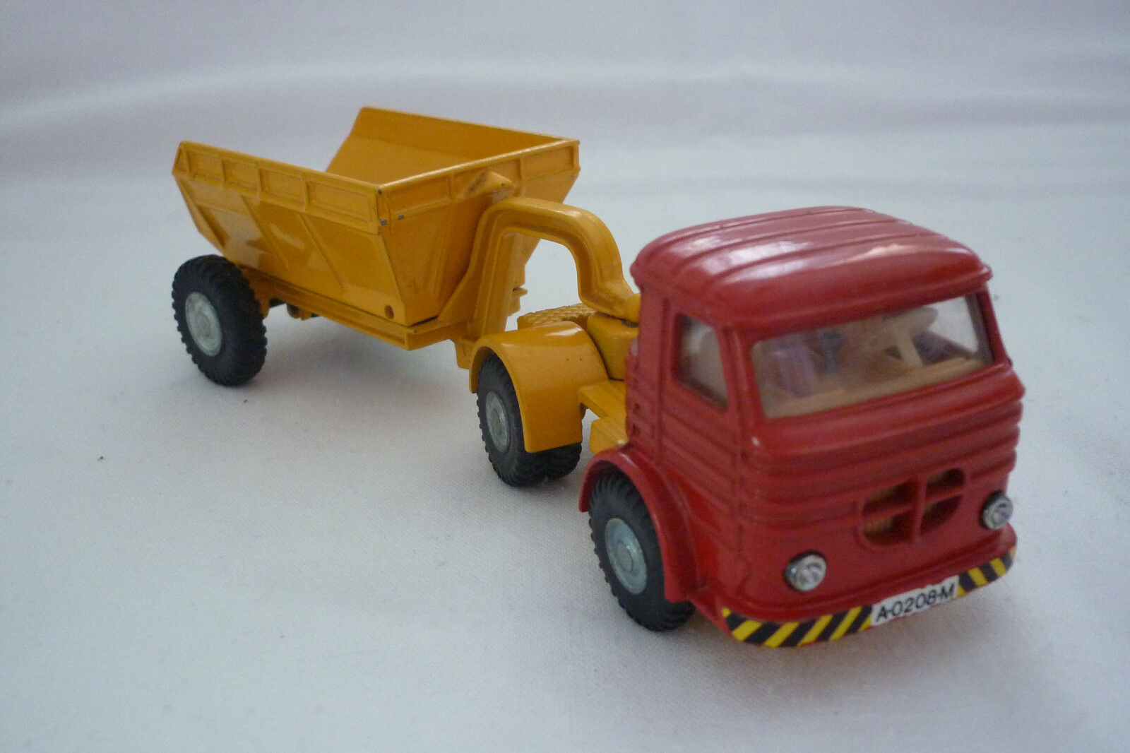 Joal - - - Vintage Miniatura De Metal - Camión con muldenkipperanhänger - ( Unb 19) 582014
