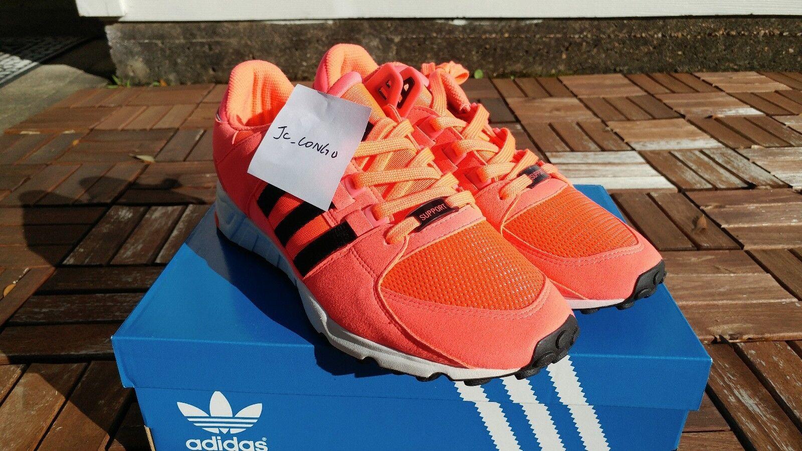 Adidas Originals equipos de Apoyo de EQT RF Rosa Core Negro Blanco Turbo Rosa RF bb1321 HQ b9b1c9
