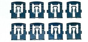 64-80-Ford-Front-Windshield-Rear-Window-Moulding-Molding-Trim-Clip-8pcs-DD