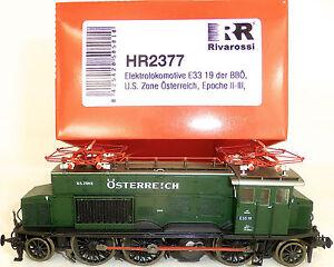 E33-19-BBO-US-Zone-Osterreich-EpII-III-Rivarossi-HR2377-H0-1-87-NEU-OVP-KG3