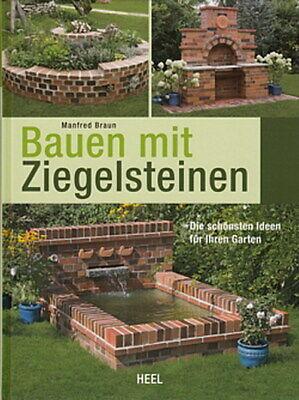 Braun: Bauen mit Ziegel-Steinen Ideen für den Garten/Treppen