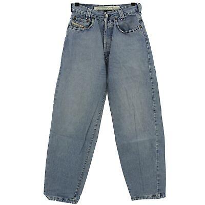 #4093 Diesel Jeans Uomo Pantaloni Old Saddle Denim Blue Stone Blu 27/28-mostra Il Titolo Originale Superficie Lucente