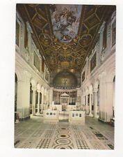 Roma Basilica di S Clemento Postcard Italy 560a