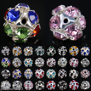Bulk-Wholesale-10mm-12mm-14mm-Charms-Round-Glass-Loose-Spacer-Beads-Findings-DIY