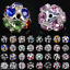 Bulk-Wholesale-10mm-12mm-14mm-Charms-Round-Glass-Loose-Spacer-Beads-Findings-DIY thumbnail 1