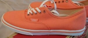 4 Lo Dames Et Vans Filles Coral Blanc Pro Authentic Fusion Uk Bnib wfxIUq7