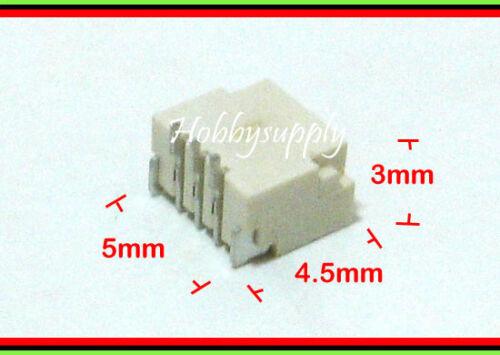 20 X MICRO SH 1.0 3Pin Maschio Alloggiamento Connettore a crimpare Donna Pin RC giocattolo SCHEDA PCB