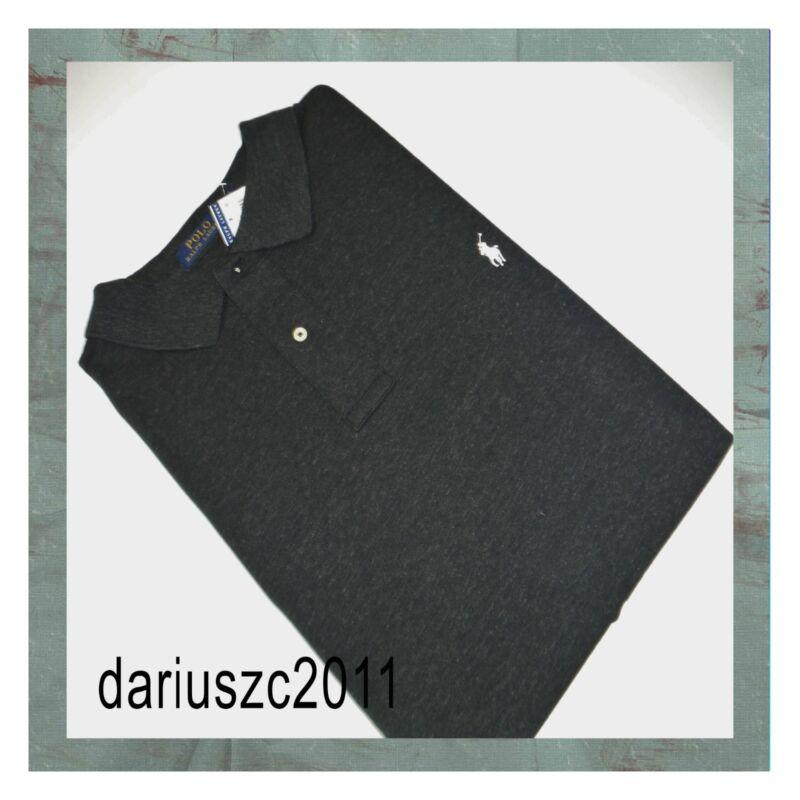 $74 Ralph Lauren Polo Short Sleeve Shirt Top Tee Size 1xb Black Htr