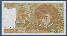 FRANCE - 10 FRANCS BERLIOZ Fayette n° 63.22 du 2-6-1977.C en SPL  H.300 930917