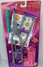 My Life Doll Crutches and Cast 5 Piece Play Set 2017