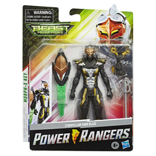 Cybervillian Robo Blaze Power Rangers Beast Morphers Collection Figure New