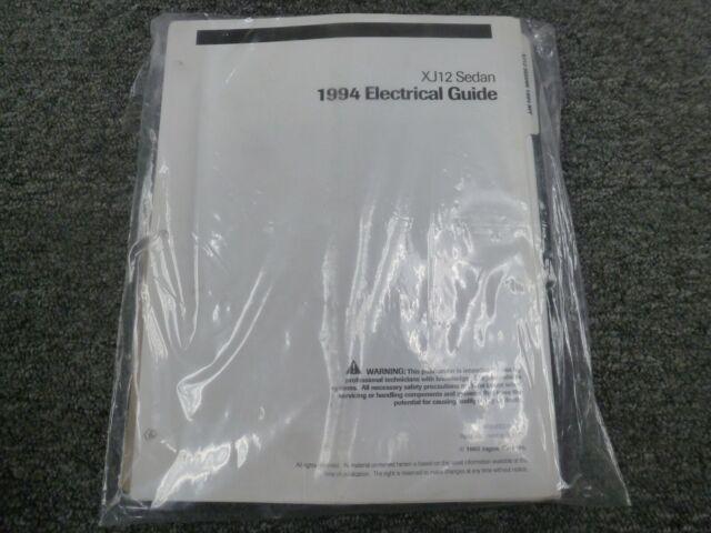 1994 Jaguar Xj12 Sedan Electrical Wiring Diagrams Manual 6