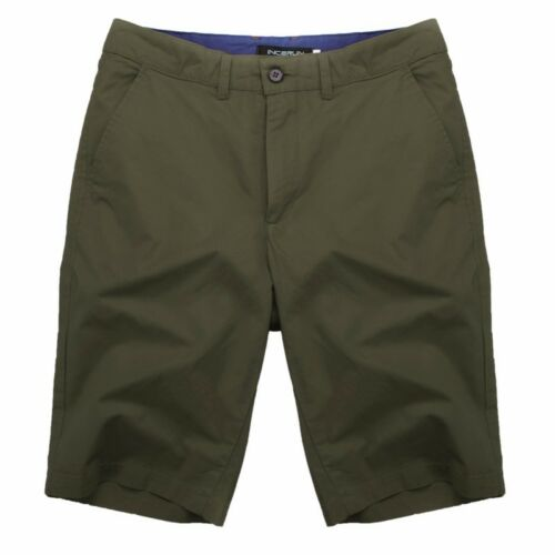 INCERUN Men/'s Cotton Cargo Work Combat Shorts Pants Casual Chino Baggy Trunks