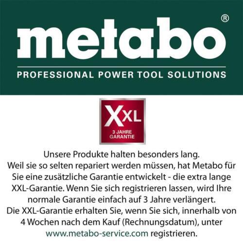 ohne Akku//Ladegerät Metabo Akku-Trockenbauschrauber SE 18 LTX 4000+Metaloc 18V