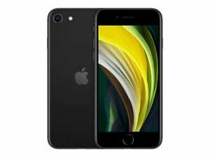 NEW BLACK VERIZON GSM UNLOCKED 64GB APPLE IPHONE SE 2ND GEN 2020 PHONE KH98
