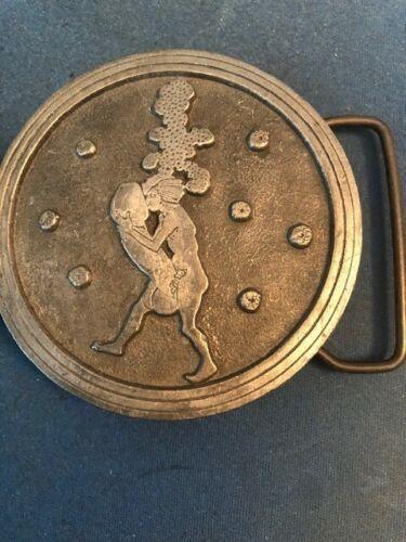 vintage belt buckle by Aubrey Beardsley