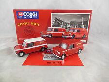 Corgi Classics 08002 Royal Mail Mini Van Set Post office Scale 1:43