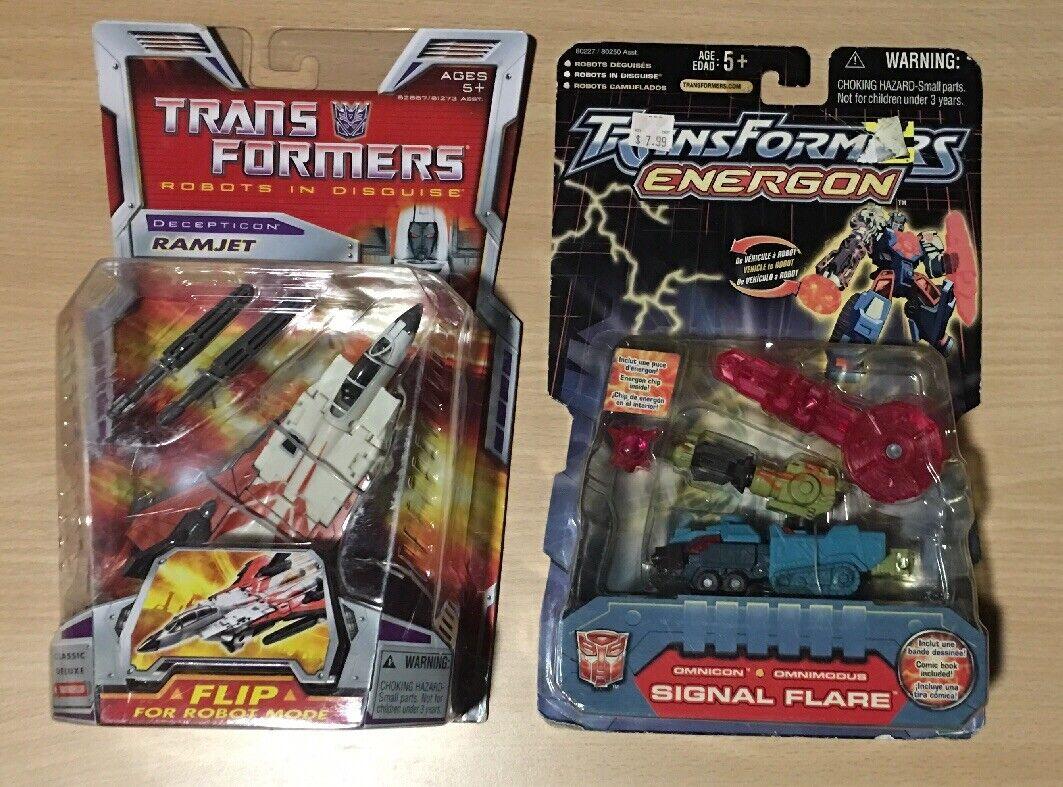 nuovo Transformers Lot  Ramjet & Energon Signal Flare