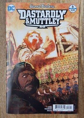 Dastardly /& Muttley #5 Variant NM Hanna Barbera DC Comics