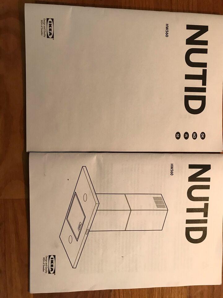 Emhætte, andet mærke IKEA NUTID, b: 80